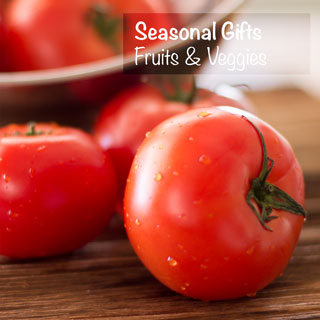 We live in beautiful, fertile British Columbia - and I don't take it for granted for an instant. I love seasonal fruits and veggies - inexpensive, sweet and juicy. Plump red tomatoes, sprinkled with water droplets and kissed with the sun. You Next Year