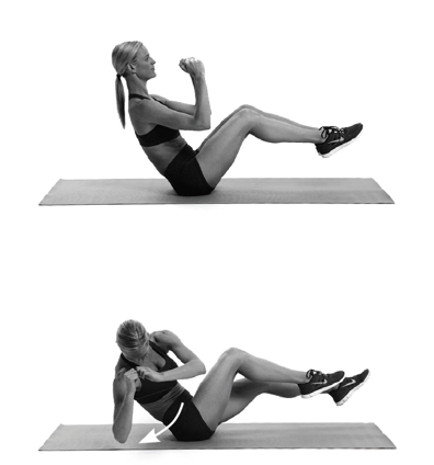 Abs exercises from Chatelaine 4 of 4