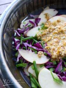 Cabbage Apple Coleslaw