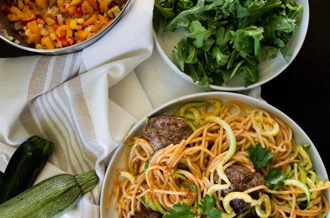 One Day Last Week – Spaghetti & Zucchini Noodles, Dragon Boating, Movie Sets