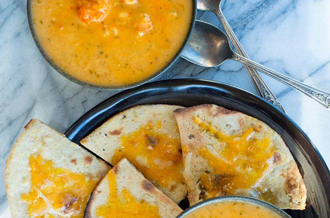 Cod Potato Chorizo Soup